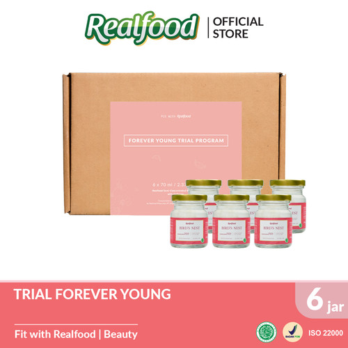Foto Produk Realfood Trial Program Forever Young Semi Concentrated Bird's Nest dari Realfood
