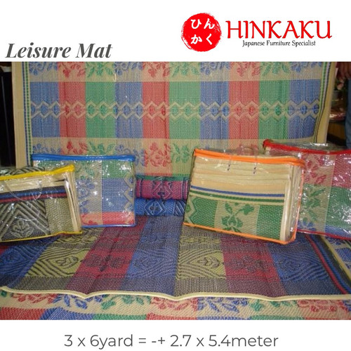 Foto Produk Tikar Plastik (Leisure Mat) Uk 3x6 dari Hinkaku Official