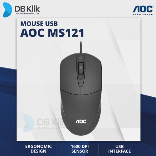 Foto Produk Mouse USB AOC MS121 dari dbclick