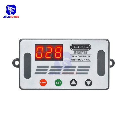 Foto Produk Timer Delay Relay Switch Digital Data Save Delay Controller DDC-432 dari Cheap n Fun