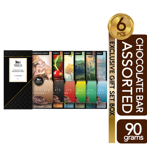 Foto Produk WoCA Assorted Premium Chocolate Bar - Coklat Aneka Rasa dari Arutala Online Co.