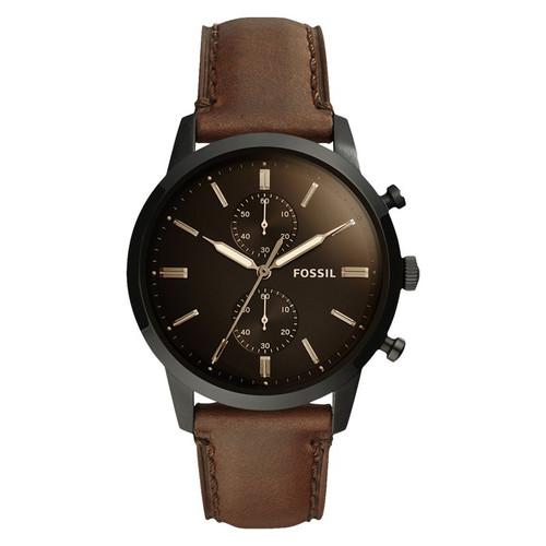 Foto Produk Jam Tangan Fossil FS5437 Townsman Chronograph Black Dial dari Luxolite SG Timepieces