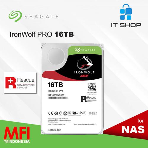 Foto Produk Seagate Ironwolf Pro NAS 16TB dari IT-SHOP-ONLINE
