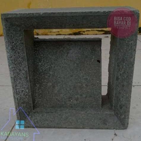 Foto Produk Roster Beton / Loster Beton / Roster Motif L / Roster Minimalis dari Kabayan Multistore