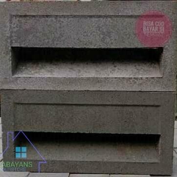 Foto Produk Roster Beton / Loster Beton / Roster Jalusi Vent Block dari Kabayan Multistore