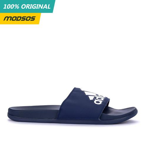 Foto Produk Sandal Pria Adidas Adilette Cloudfoam Navy Original dari Modsos