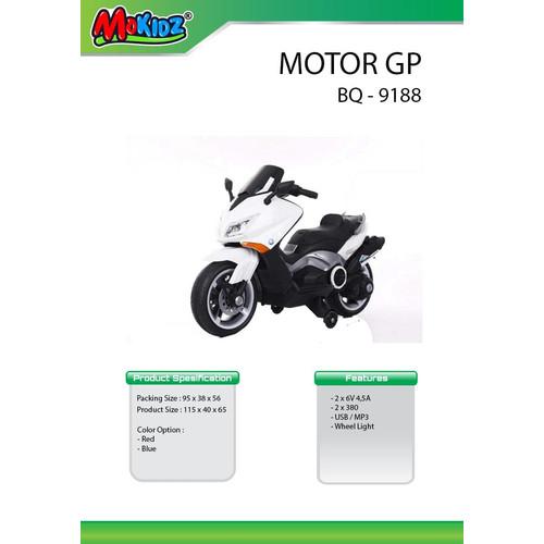 Foto Produk Mainan anak motor aki mokidz nmax / motor BQ9188 dari bintangjaya toys