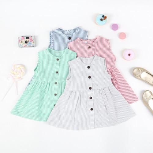 Foto Produk Dress anak perempuan, baju anak kode LE2006 - Biru, M (12-24 Bulan) dari Baju Koko Esquina