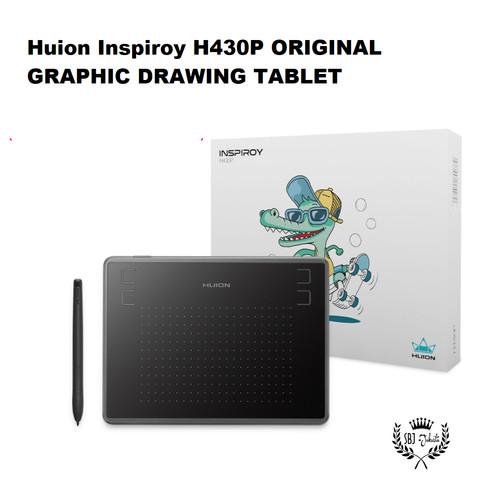 Foto Produk Huion H430P Graphic Drawing Tablet utk Komputer PC free battery pen dari Serba Jadi
