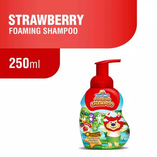 Foto Produk Kodomo Foaming Shampoo 250ml Strawberry Orange Sampo Anak dari Nic Shop