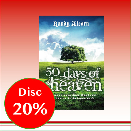 Foto Produk 50 Days of Heaven - Randy Alcorn dari CV Pionir Jaya