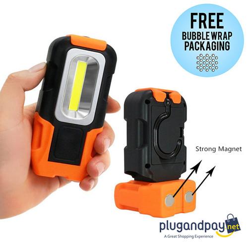 Foto Produk Senter Camping Lampu LED Portable Gantung Outdoor+ Magnet COB 200 Lum dari plugandpay