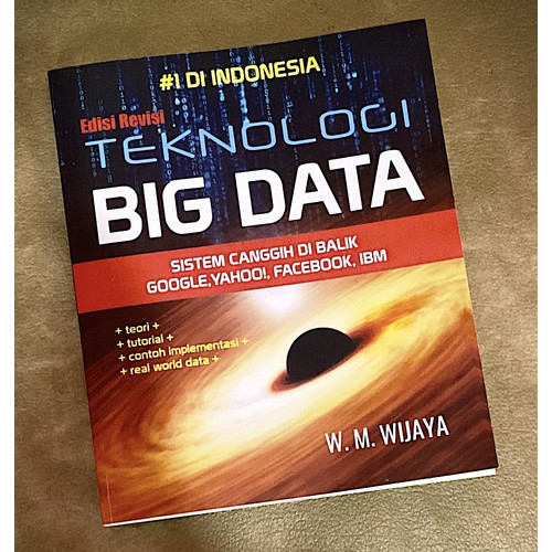 Foto Produk Buku   Teknologi Big Data : Hadoop, MapReduce, Spark, NoSQL, Crawling dari SUMERUMAS