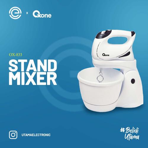 Foto Produk OXONE Stand Mixer OX-833 - Putih dari UTAMA_ELECTRONIC