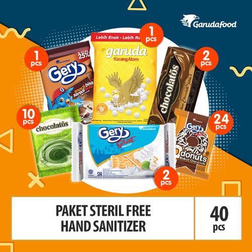 Foto Produk Paket Steril Free Hand Sanitizer dari GarudaFood