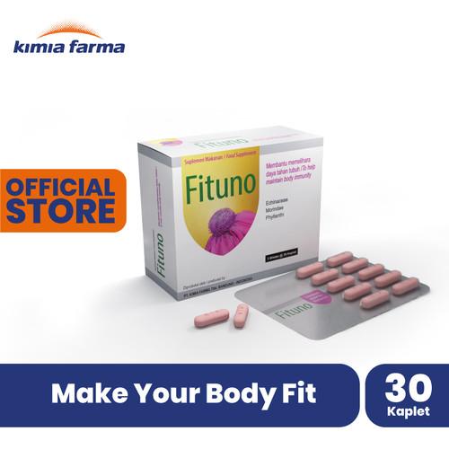 Foto Produk FITUNO Suplemen Daya Tahan Tubuh 3x10 Kaplet dari Kimia Farma Official