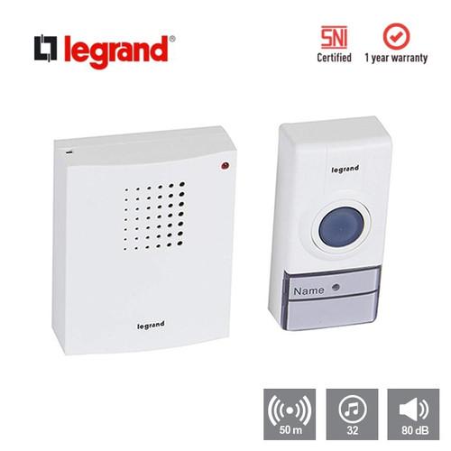 Foto Produk Bell Rumah Legrand Wireless Door Bell Kit dari Legrand Indonesia