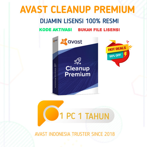 Foto Produk Avast CleanUp Premium 1 PC 3 Tahun dijamin 100% ORIGINAL bukan Crack ! dari Avast Indonesia