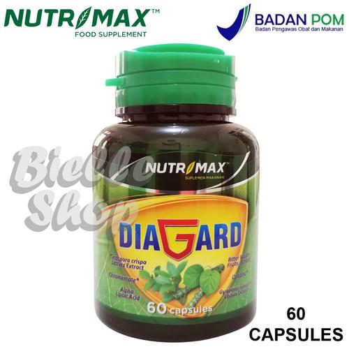 Foto Produk Nutrimax Diagard 60 Caps - Vitamin Penurun Gula Darah - Diabetes dari Bielle's Shop