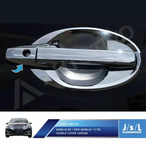 Jual Cover Door Handle Pintu Mobil Honda Mobilio New Rs Lama Chrome Jsl Jakarta Barat Zona Variasi Mobil Tokopedia