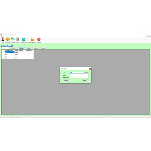 Foto Produk Source Code SPK Metode PROMETHEE VB dari Rumah Source Code