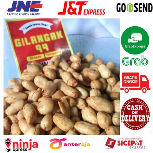 Foto Produk kacang bawang 1kg kacang tanah goreng/kacang bali/kacang bawanggoreng dari gilangak99