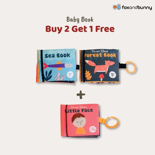 Foto Produk Buku Bayi   Beli 2 Gratis 1   Baby Book by Fox and Bunny   0-1 Tahun - Sea Book dari Fox and Bunny Official