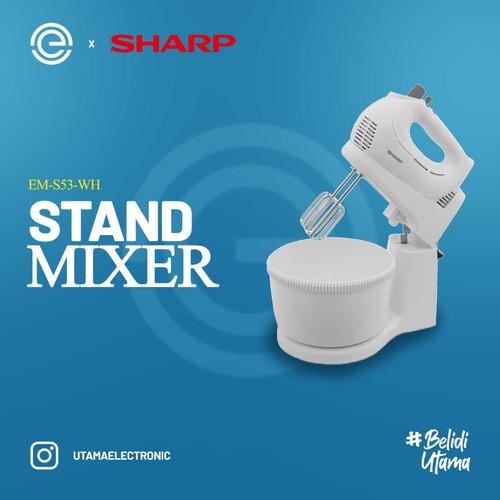 Foto Produk SHARP Stand Mixer EM-S53-WH dari UTAMA_ELECTRONIC