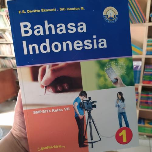 Foto Produk BUKU BAHASA INDONESIA SMP/MTs KELAS 7 REVISI K13 YUDHISTIRA dari Amanahbook