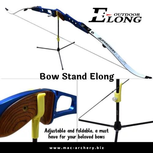 Foto Produk bowstand elong ori - bow stand cagrak busur panahan anak panah quiver dari MAC Archery