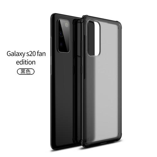 Foto Produk Case Translucent Anti Crack Casing Samsung Galaxy S20 FE - Hitam dari Maserik Shop