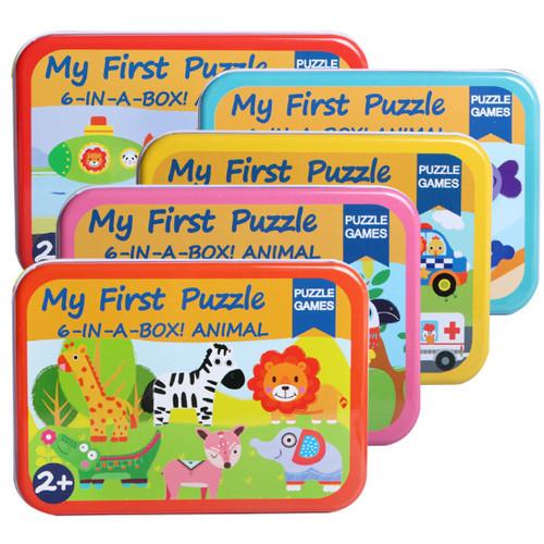 Foto Produk Mainan Edukatif / Puzzle Kayu / Jigsaw Puzzle Anak My First Puzzle - LAUT dari Jaya Multi Kreasi