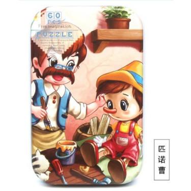 Foto Produk TweedyToys - Jigsaw Puzzle / Puzzle 60 Keping Baru Lucu - Pinokio dari TweedyToys
