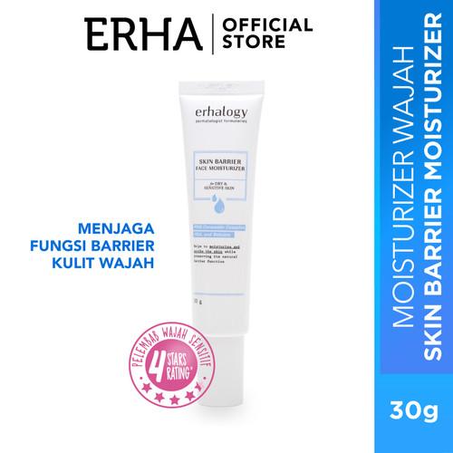 Foto Produk erhalogy Gentle Skin Face Moisturizer 30g - pelembab wajah sensitif dari Erha Official Store