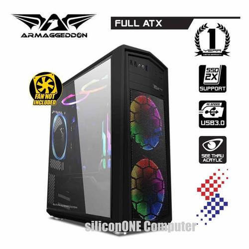 Foto Produk ARMAGGEDDON T5X PRO II BLACK dari silicon ONE Computer
