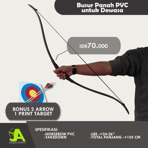 Foto Produk Busur panah Horsebow PVC Murah Abis dari JuraganArchery