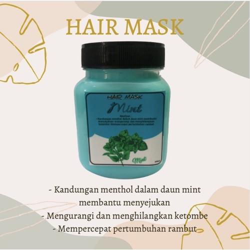 Jual Hairmask Hair Mask Masker Rambut Creambath Perawatan Ala Salon Mint Jakarta Utara Jemma Beauty Tokopedia