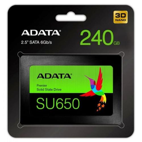 Foto Produk SSD Adata 240gb SU650 2.5inch sata 6Gb/s Adata 240 gb dari PojokITcom Pusat IT Comp