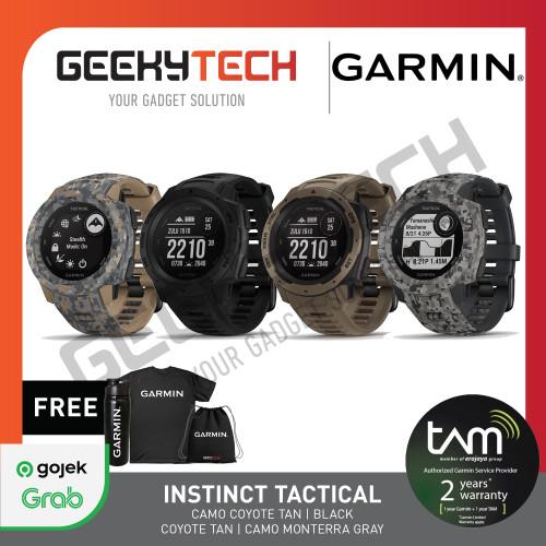 Foto Produk Garmin Instinct Tactical - Garansi Resmi TAM 2 Tahun dari GeekyTech
