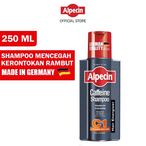 Foto Produk Alpecin C1 Caffeine Shampo Rambut Rontok Pria/Hair Loss Shampoo dari Dr Wolff Official Store