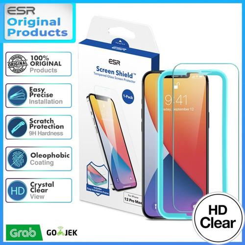 Jual Original ESR Tempered Glass iPhone 12 PRO MAX Screen ...