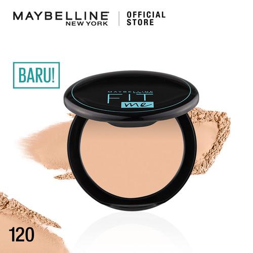 Foto Produk Maybelline FIT ME 12H Oil Control Powder - 120 dari Maybelline Official Shop