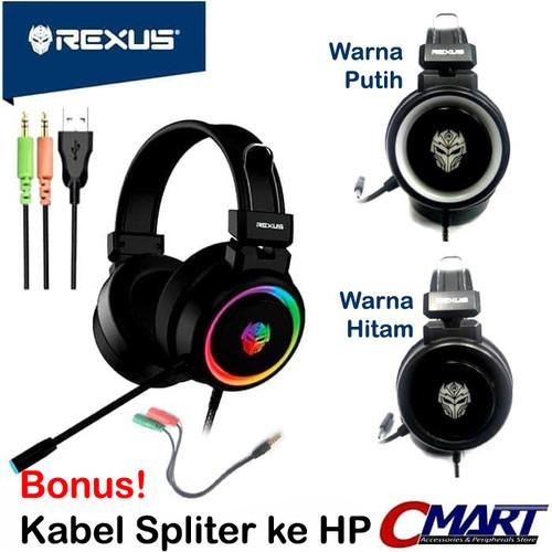 Foto Produk Rexus F30 Gaming Headset Vonix Headphone - REX-F30 - Putih dari CMart Computer