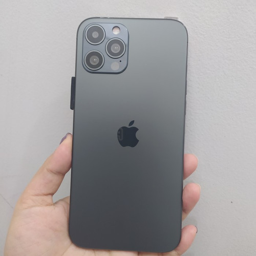 Jual IPHONE 12 PRO MAX 512GB HDC FACE ID 4G REAL - Hitam ...
