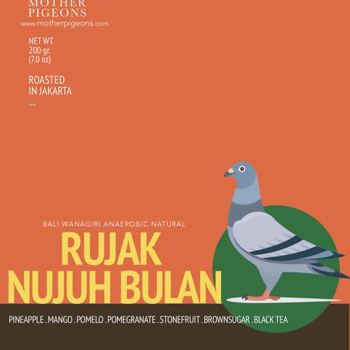 Foto Produk Rujak Nujuh Bulan (Bali Wanagiri Anaerobic Natural) dari Motherpigeons Roaster