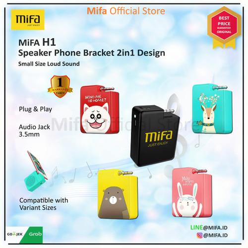 Foto Produk Speaker Xiaomi MiFa H1 Portable Audio Stereo Plug And Play ORIGINAL  - Merah Muda dari MiFa Official Store