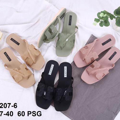 Foto Produk Sandal Wanita Premium H simple sling Balance - Sendal jelly wanita dari Gracia OS