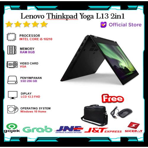 Foto Produk Lenovo Thinkpad Yoga L13 2in1 Touch i5 10210 8GB 256 SSD 13.3FHD Win10 dari Gateway Indonesia Comp