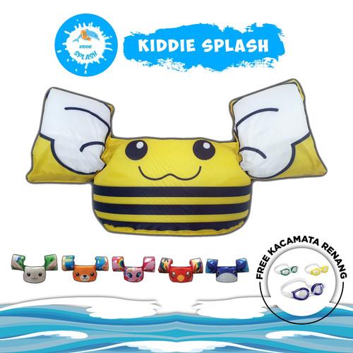 Foto Produk Pelampung Rompi Puddle Jumper - Yellow Bee dari KIDDIE SPLASH INDONESIA