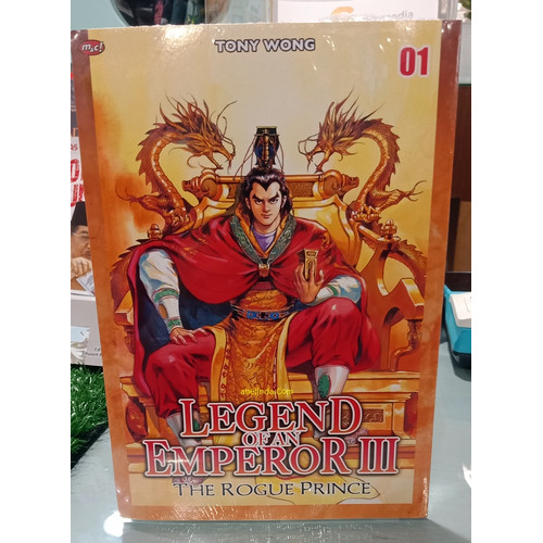 Foto Produk LEGEND OF EMPEROR III - THE ROGUE PRINCE 01 dari Anelinda Buku Koleksi
